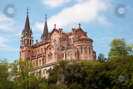 Covadonga sanctuary, Asturias, Spain stock photo, Covadonga sanctuary, Asturias, Spain by B.F.