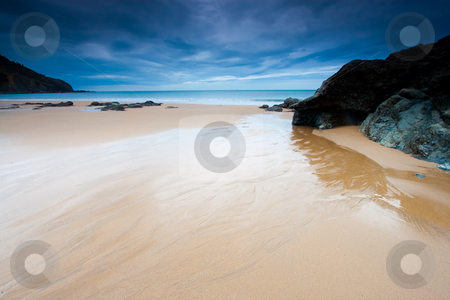Beach of Bakio in Bizkaia, Spain stock photo, Beach of Bakio in Bizkaia, Spain by B.F.