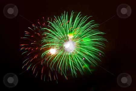 Fireworks, Santurtzi, Bizkaia, Spain stock photo, Fireworks, Santurtzi, Bizkaia, Spain by B.F.