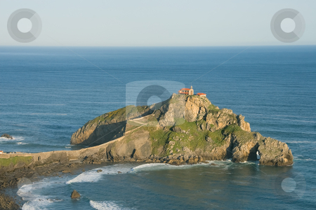 San Juan de Gaztelugatxe, Bizkaia, Spain  stock photo, San Juan de Gaztelugatxe, Bizkaia, Spain by B.F.