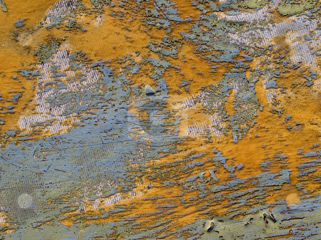 Abstract scratching texture closeup background. stock photo, Old damaged fiberglass-reinforced plastic texture background. by Oleksiy Fedorov