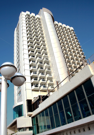 Modern hotel in Tel-Aviv stock photo, Modern hotel in Tel-Aviv, Israel by Tatjana Keisa