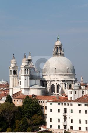 Santa Maria della Salute stock photo, The Basilica of Santa Maria della Salute in Venice, Italy by Kevin Tietz