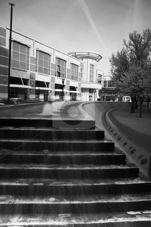Fountain stairs in Lexington  stock photo, Fountain stairs in Lexington, Kentucky. by Henryk Sadura