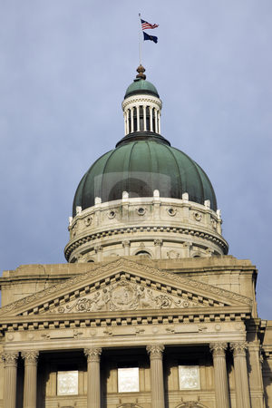 Indianapolis, Indiana - State Capitol stock photo, State Capitol of Indiana in Indianapolis. by Henryk Sadura
