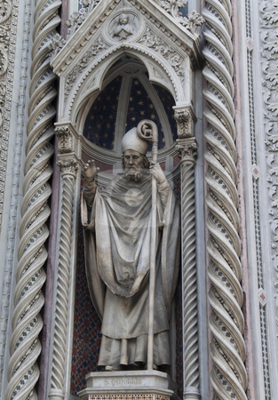 Saint Zenobius stock photo, Saint Zenobius of Santa Maria del Fiore in Florence by Kevin Tietz