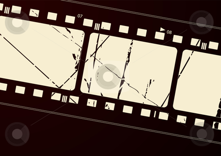 Film frame stock vector clipart, Editable vector film frame background with space for your text or image.  More images like this in my portfolio by Gordan Poropat