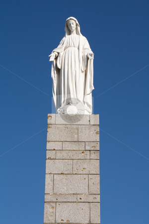 Mother maria stock photo, A statue of mother maria by Koen Adriaenssen