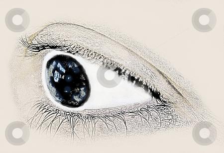 Side View Eye Drawing Human Eye Sketch Side View