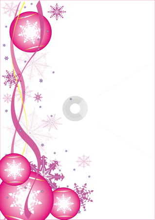 Christmas stock vector clipart, Christmas flyer. by Alexander Limbach