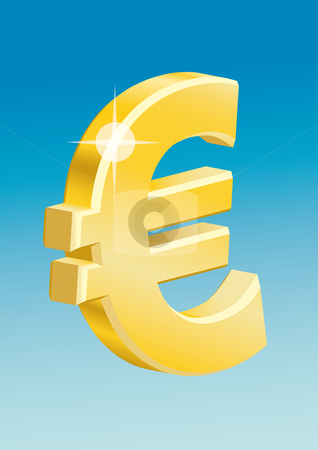 currency symbols vector. European currency symbol