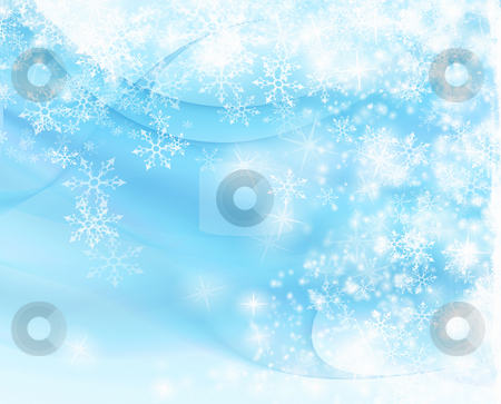 Winter background stock photo, Modern winter background with space for your text by Gordan Poropat