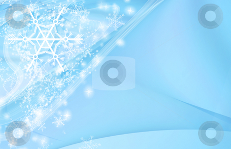 Winter background stock photo, Modern winter background with space for your text by GPimages