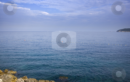 Beach stock photo, Beautiful  beach on a sunny day by Gordan Poropat