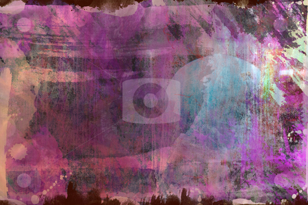 Abstract collage stock photo, Grunge abstract textured collage , all brushes elements painting used are created by me and from my work by Gordan Poropat