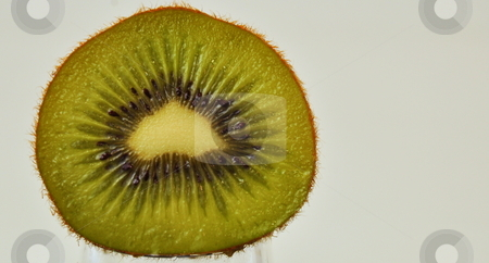 Kiwi Fruit stock photo, Sliced Kiwi by Richard Sheehan