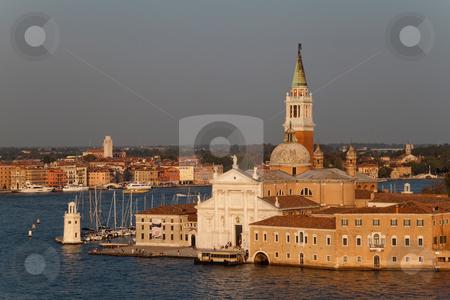 San Giorgio Maggiore stock photo, The Basilica of San Giorgio Maggiore which is on its own island in Venice, Italy by Kevin Tietz