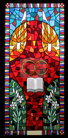 Matrimony  stock photo, Matrimony, stained glass by Zvonimir Atletic