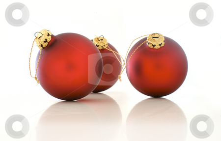 Christmas balls stock photo, Christmas decoration by Kasper Nymann