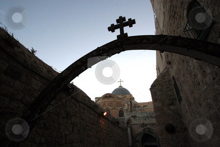 Church Of The Holy Sepulchre in Jerusalem stock photo, Church Of The Holy Sepulchre in Jerusalem.Israel by Zvonimir Atletic