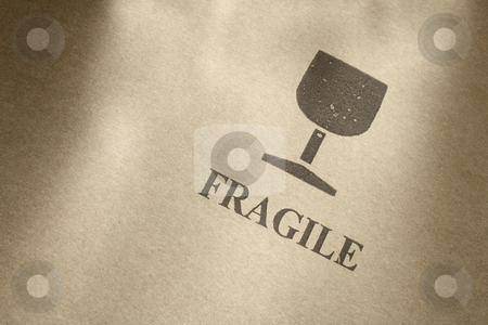 Fragile stock photo,