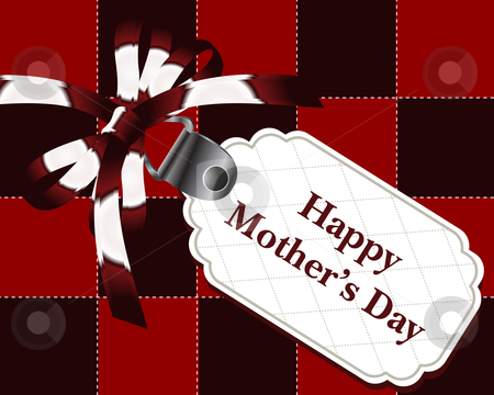 Greeting Card stock vector clipart, Greeting Card, happy mother's day. by Nabeel Zytoon