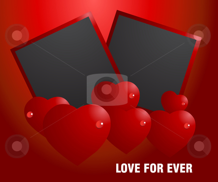 Love Concept stock vector clipart, Valentine Illustration, perfect concept for valentine's day easy to use it as greeting card, poster, flyer, Ad. by Nabeel Zytoon