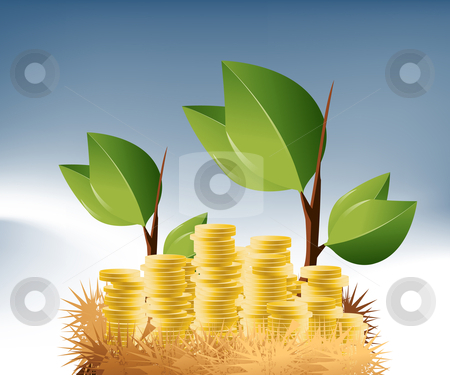 Business Background stock vector clipart, Business and Financial Concept Background . by Nabeel Zytoon