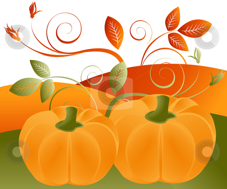 Abstract Illustration stock vector clipart, Thanksgiving Concept Illustration Image, you can use it for Thanksgiving  sale time or seasons by Nabeel Zytoon