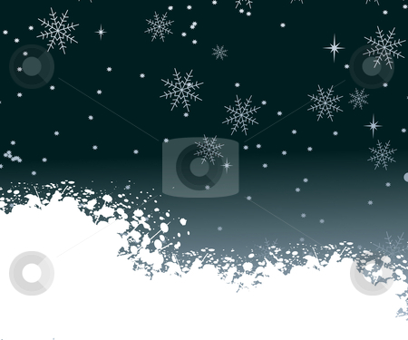 Christmas Background stock vector clipart, Background for new year and Christmas by Nabeel Zytoon