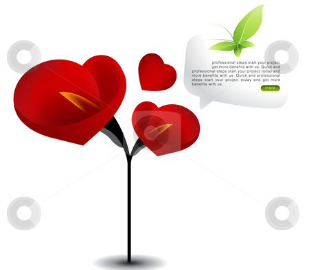 Love Illustration stock vector clipart, Valentine's Day Concept Illustration . by Nabeel Zytoon