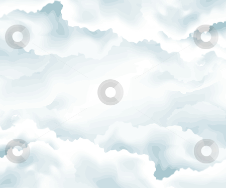Abstract background stock vector clipart, Clouds background , open sky , raining weather . by Nabeel Zytoon
