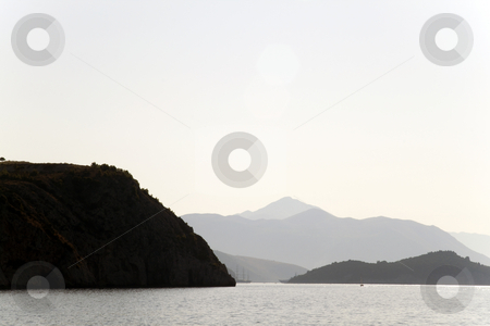 Coast Line stock photo, A scenic coast line in Dubrovnik, Croatia by Kevin Tietz