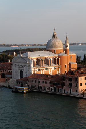 Il Redentore stock photo, The Basilica of Chiesa del Santissimo Redentore (Il Redentore) in Venice, Italy by Kevin Tietz