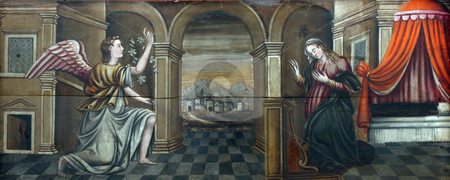 The Annunciation  stock photo,  by Zvonimir Atletic