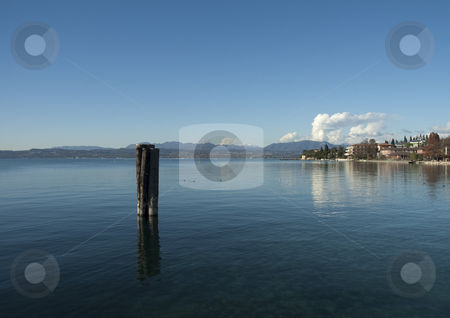 Lake Garda  stock photo, Overview of Lake Garda dawn by @ Photofollies by Carla Zagni