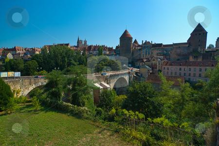 Semur-en-Auxois, Burgund, Frankreich, Bourgogne, France stock photo, Semur-en-Auxois ist eine Kommune im franz?sischen D?partement  C?te-d by Wolfgang Heidasch