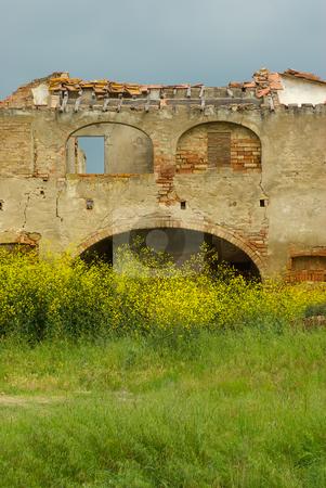 Haus, Ruine - House, Ruin stock photo, Haus, Ruine - House, Ruin by Wolfgang Heidasch