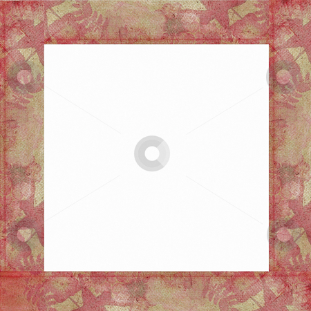 Bango paste border stock photo, Border or frame for collage and scrapbooking by Todd Amen