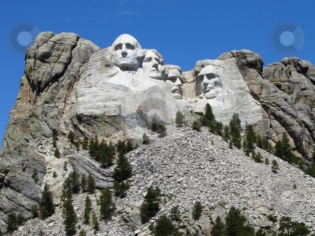 Mount Rushmore South Dakota stock photo, Mount Rushmore South Dakota by Liane Harrold