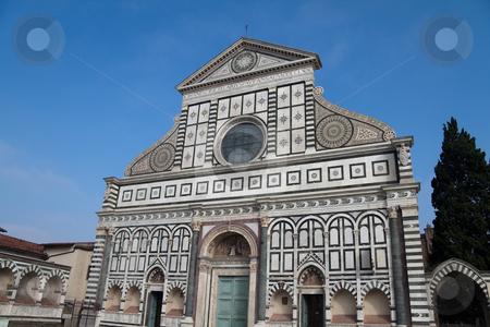 Santa Maria Novella stock photo, The church of Santa Maria Novella in Florence, Italy by Kevin Tietz