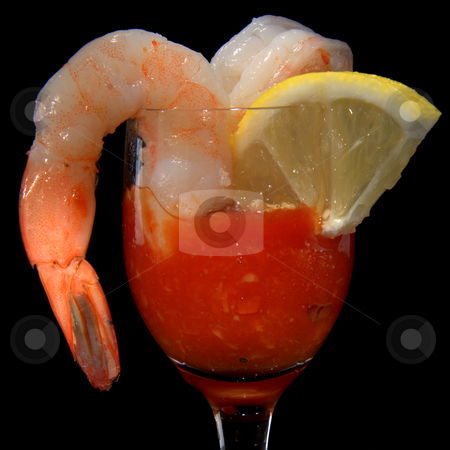 Appetizer stock photo, Shrimp ,