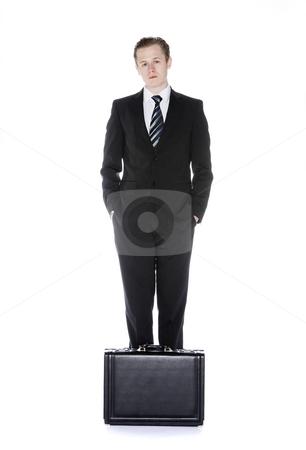 Man with an attach? stock photo, Man with an attach? by Anne-Louise Quarfoth