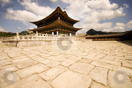 Changdeokgung stock photo, The historic Changdeokgung Palace, Seoul, Korea. by Mary Lane