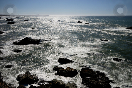 Pacific stock photo, The Pacific coast, north of San Francisco, California. by Mary Lane