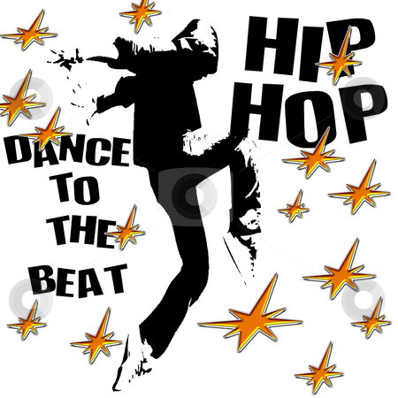 Hip hop dance stock photo, Hip hop dance illustration by CHERYL LAFOND
