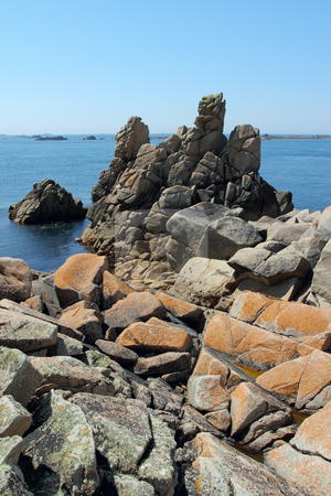 St. Agnes and Western Rocks, Isles of Scilly, Cornwall UK. stock photo, St. Agnes and Western Rocks, Isles of Scilly, Cornwall UK. by Stephen Rees