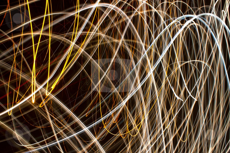 Light lines swirls abstract background. stock photo, Light lines swirls abstract background. by Stephen Rees