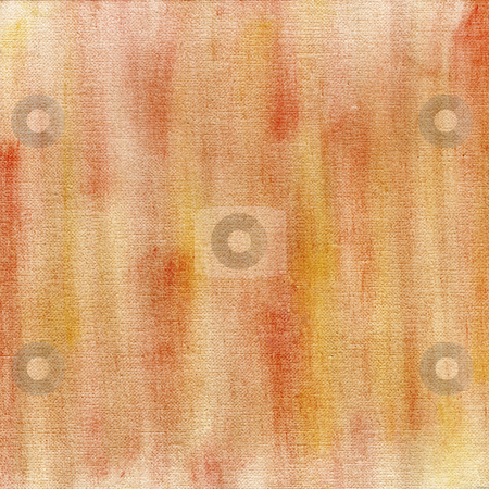 Red and yellow crayon pastel abstract stock photo, Red and yellow crayon pastel smudges on white artist canvas, self made by photographer by Marek Uliasz