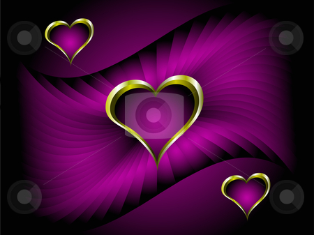 wallpaper purple and gold. a deep purple background